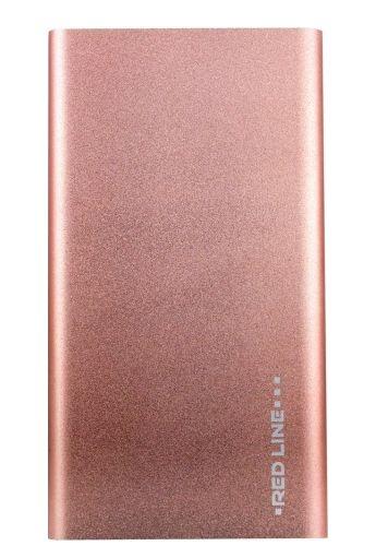 Аксессуар для телефона Red-Line Внешний аккумулятор J01 (4000 mAh), розовое золото J01 РОЗОВОЕ ЗОЛОТО