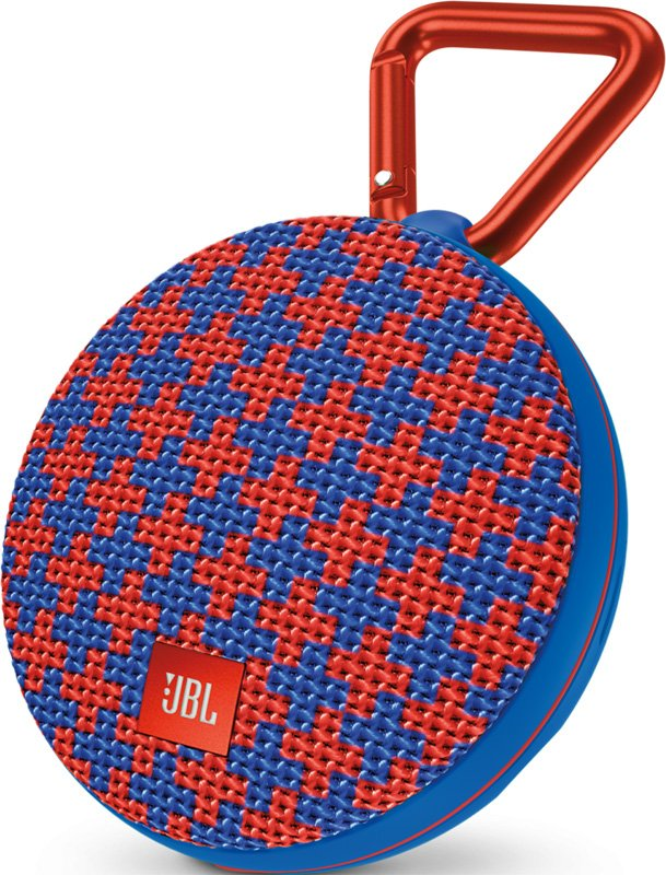 JBL Clip 2 Malta, синяя с красным