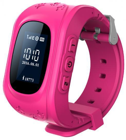 Умные часы Tesla Nautilus Junior 05 (для детей), розовые GPB07621