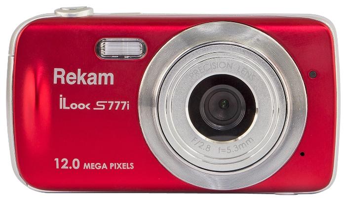 Цифровой фотоаппарат Rekam iLook S777i, красный