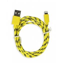 ����-������ Smartbuy USB - 8-pin ��� Apple, ������, ����� 1,2 �, ������ (iK-512n yellow)/500