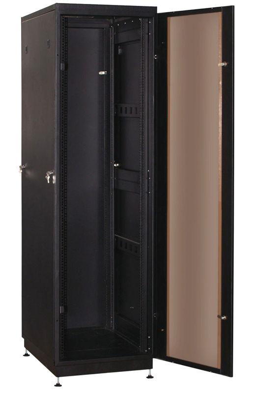 """Телекоммуникационный шкаф PRACTIC 2 MG42-68 B (42U, 19"""", 600х800, напольный), чёрный NT PRACTIC 2 MG42-68 B"""
