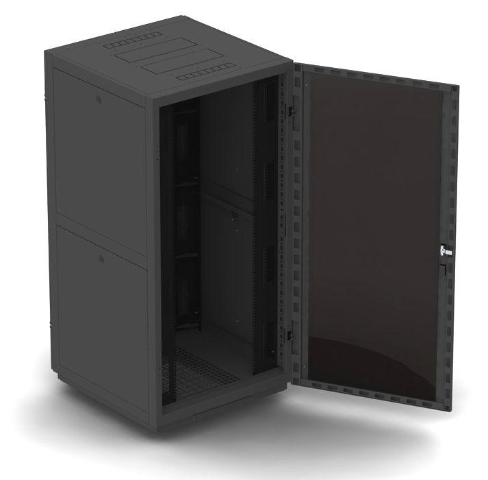 """Телекоммуникационный шкаф Business 2 MG47-88 B (47U, 19"""", 800х800, напольный), чёрный NT BUSINESS 2 MG47-88 В"""