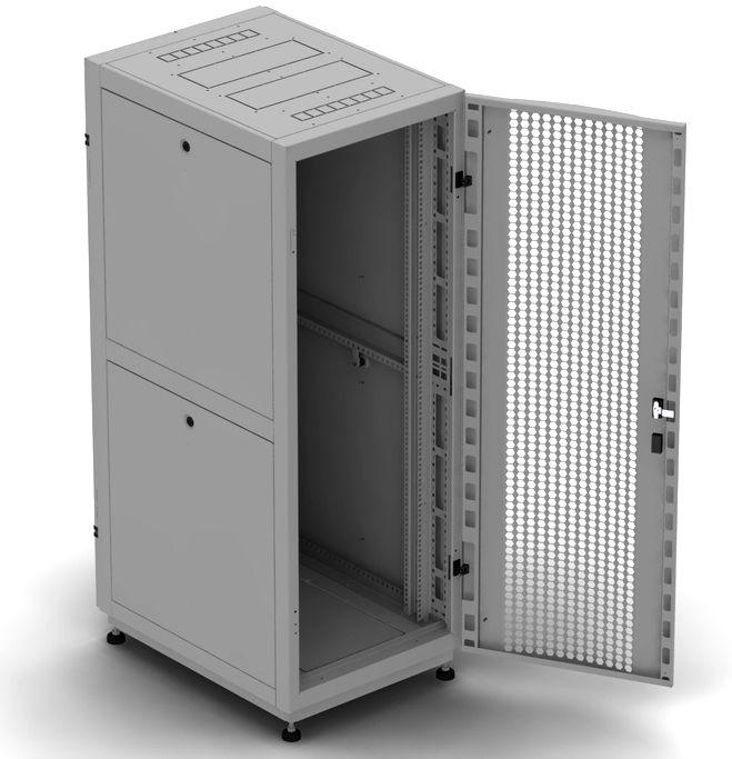 """Телекоммуникационный шкаф Business 2 MP42-68 G (42U, 19"""", 600х800, напольный), серый NT BUSINESS 2 MP42-68 G"""