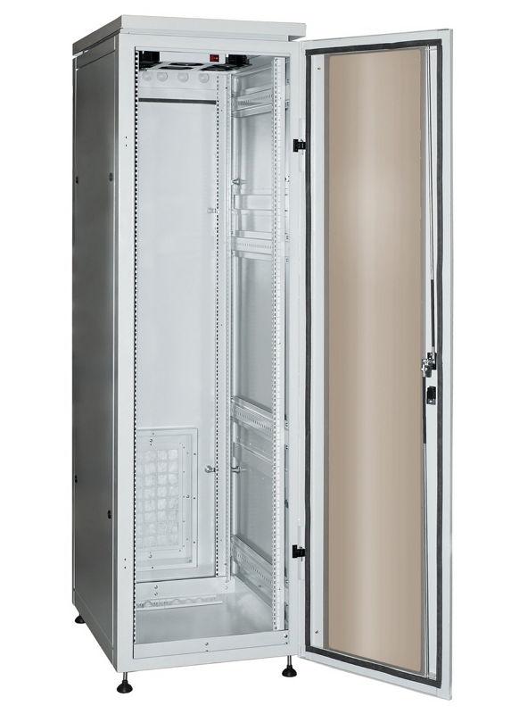 """Телекоммуникационный шкаф Profi plus IP55 33-610 G (33U, 19"""", 600х1000, напольный), серый NT PROFI plus IP55 33-610 G"""