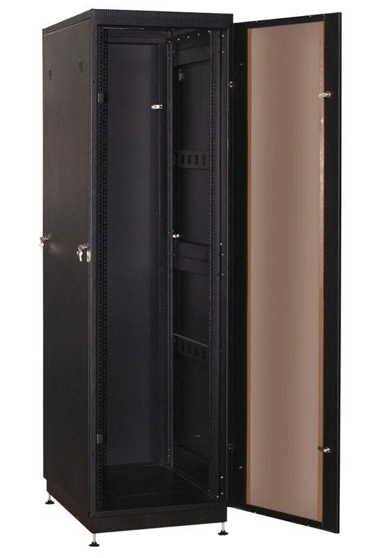 """Телекоммуникационный шкаф Practic 2 MG47-612 B (47U, 19"""", 600х1200, напольный), чёрный NT PRACTIC 2 MG47-612 В"""