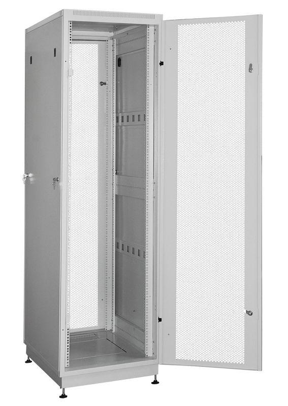 """Телекоммуникационный шкаф Practic 2 MP47-612 G (47U, 19"""", 600х1200, напольный), серый NT PRACTIC 2 MP47-612 G"""