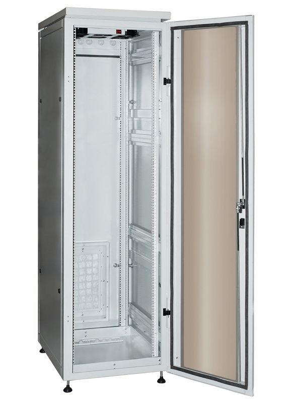 """Телекоммуникационный шкаф PROFI plus IP55 24-610 G (24U, 19"""", 600х1000, напольный), серый NT PROFI plus IP55 24-610 G"""