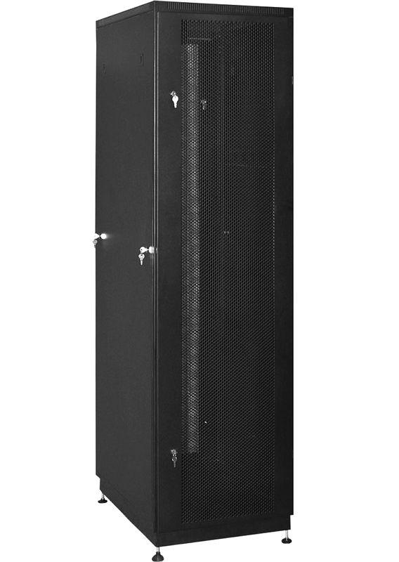 """Телекоммуникационный шкаф PRACTIC 2 MP42-810 B (42U, 19"""", 800х1000, напольный), чёрный NT PRACTIC 2 MP42-810 B"""