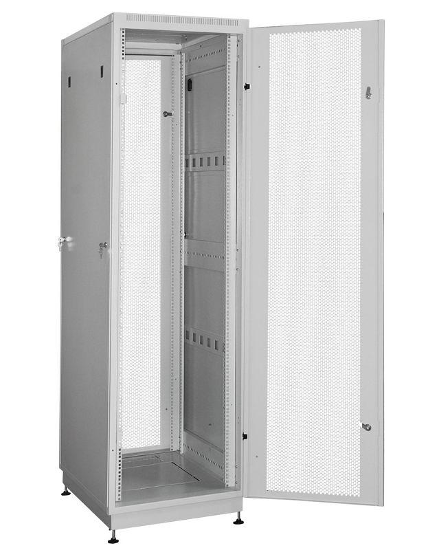 """Телекоммуникационный шкаф PRACTIC 2 MP42-610 G (42U, 19"""", 600х1000, напольный), серый NT PRACTIC 2 MP42-610 G"""