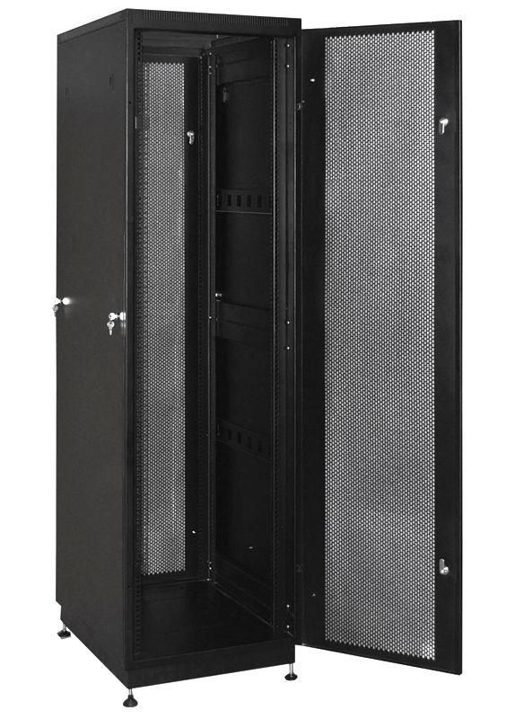 """Телекоммуникационный шкаф PRACTIC 2 MP42-68 B (42U, 19"""", 600х800, напольный), чёрный NT PRACTIC 2 MP42-68 B"""