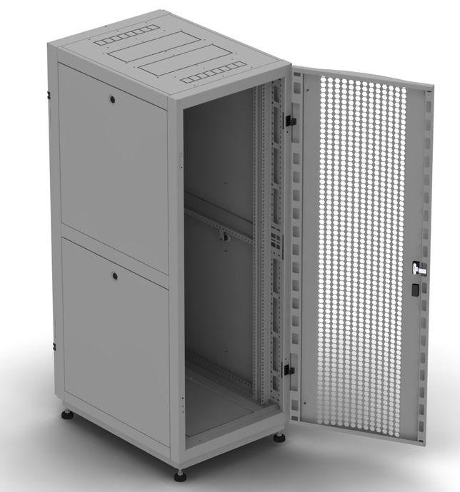 """Телекоммуникационный шкаф BUSINESS 2 MP24-66 G (24U, 19"""", 600х600, напольный), серый NT BUSINESS 2 MP24-66 G"""