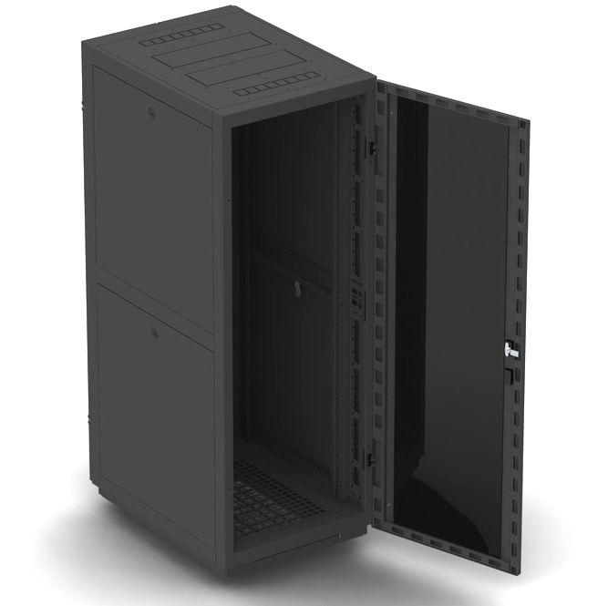 """Телекоммуникационный шкаф BUSINESS 2 MG22-66 B (22U, 19"""", 600х600, напольный), чёрный NT BUSINESS 2 MG22-66 B"""