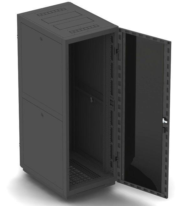 """Телекоммуникационный шкаф BUSINESS 2 MG18-66 B (18U, 19"""", 600х600, напольный), чёрный NT BUSINESS 2 MG18-66 B"""