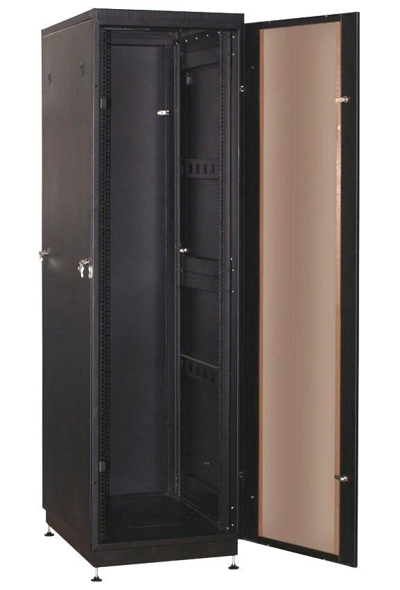 """Телекоммуникационный шкаф PRACTIC 2 MG27-68 B (27U, 19"""", 600х800, напольный), чёрный NT PRACTIC 2 MG27-68 B"""