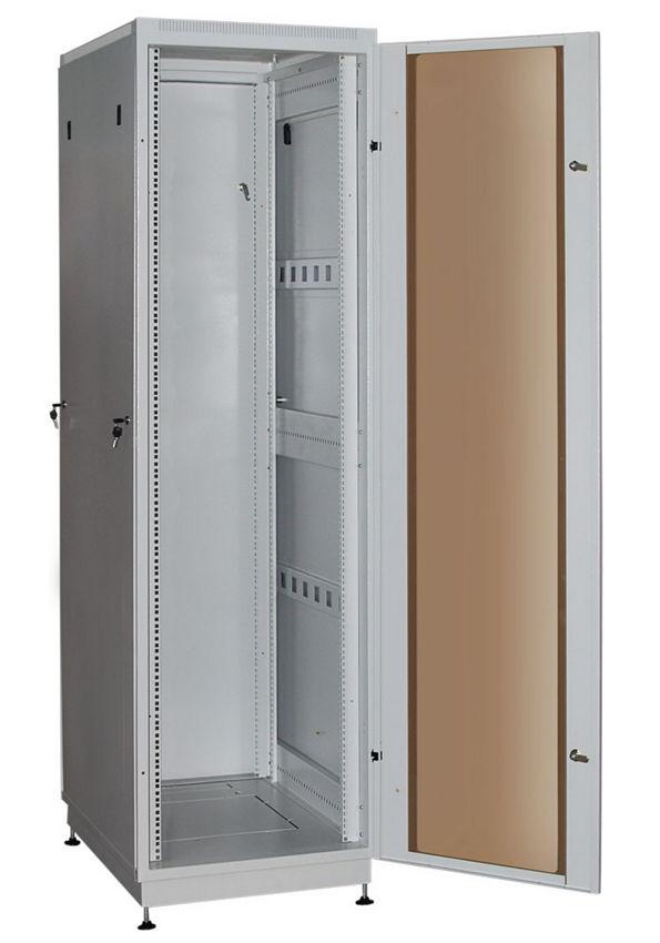 """Телекоммуникационный шкаф PRACTIC 2 MG27-66 G (27U, 19"""", 600х600, напольный), серый NT PRACTIC 2 MG27-66 G"""