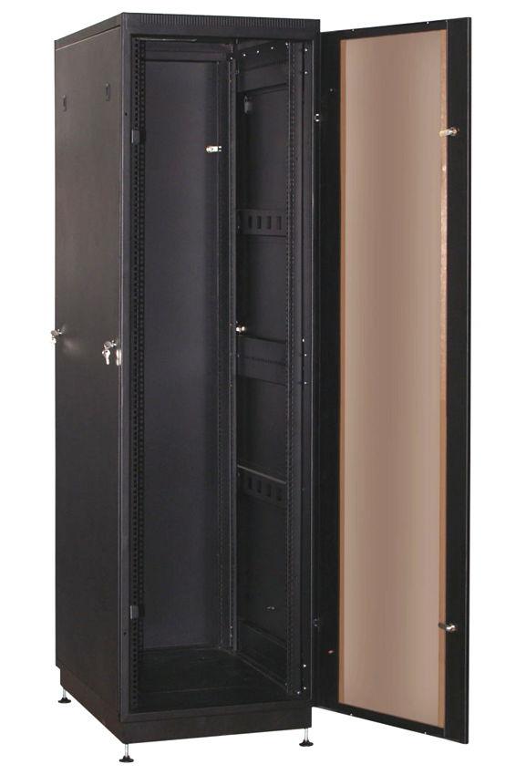 """Телекоммуникационный шкаф PRACTIC 2 MG33-66 B (33U, 19"""", 600х600, напольный), чёрный NT PRACTIC 2 MG33-66 B"""
