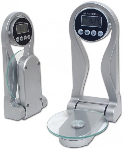 Кухонные весы First FA-6408, серебристые FA-6408 Silver