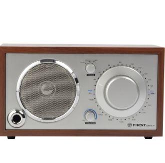 Радиоприемник First FA-1907 (деревянный корпус) FA-1907 Silver/wood