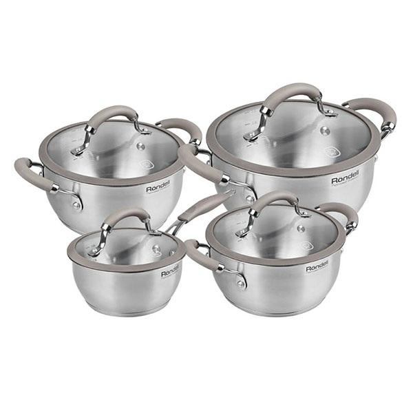 Набор посуды Rondell Balance RDS-756 ST (8 предметов) RDS-756 (ST)