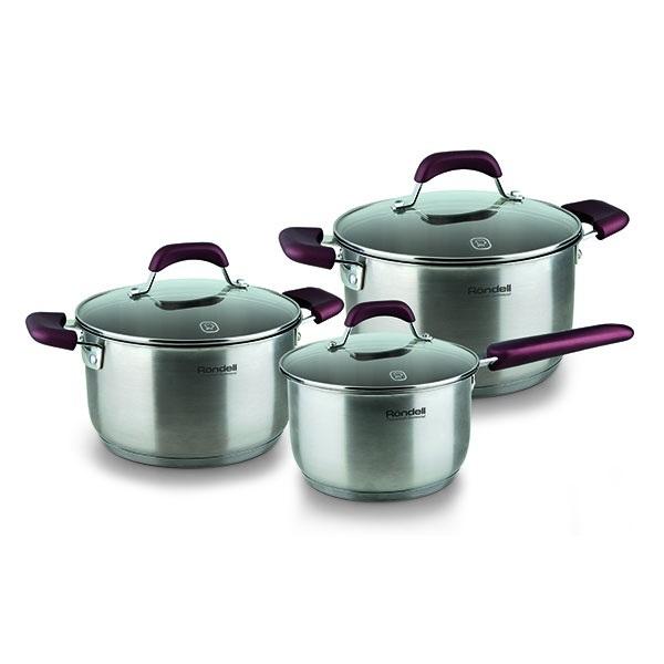 Набор посуды Rondell Bojole RDS-823 ST (6 предметов) RDS-823 (ST)
