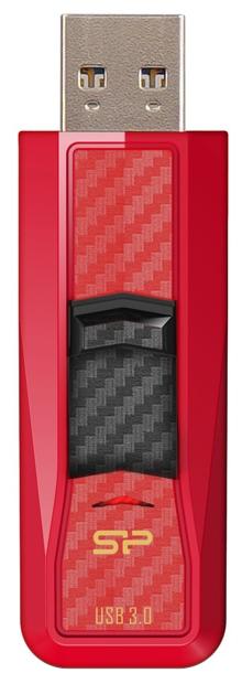 Usb-флешка Silicon-Power Silicon Power Blaze B50 16GB, красная SP016GBUF3B50V1R