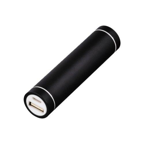 Аксессуар для телефона HAMA Мобильный аккумулятор Stick PowerPack 2600mAh, черный/белый