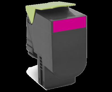 Картридж Lexmark 808HME, пурпурный 80C8HME