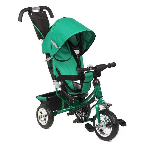 Трехколесный велосипед Capella Action Trike II зеленый id: 37618