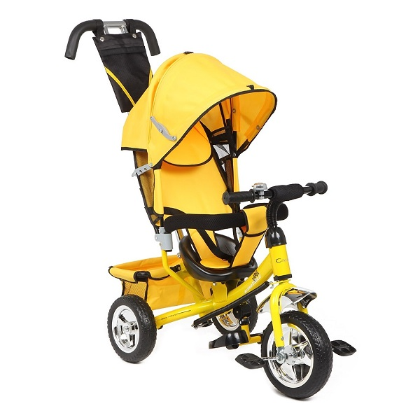 Трехколесный велосипед Capella Action Trike II желтый id: 37625