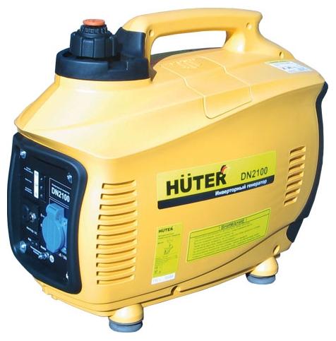 Электрогенератор Бензиновый генератор Huter DN2100 (220V, 1.7 кВт) 64/10/2