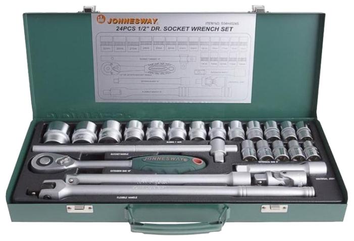 Набор инструментов Jonnesway S04H4524S, 24 предмета