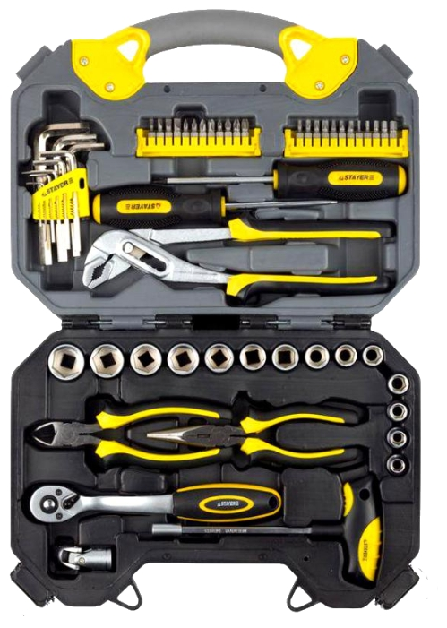 Набор инструментов STAYER 27710-H56, 56 предметов