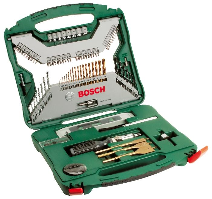 Набор инструментов Bosch X-Line 100 (2.607.019.330), 100 предметов 2607019330