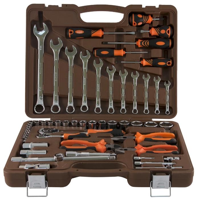 Набор инструментов Ombra OMT55S, 55 предметов