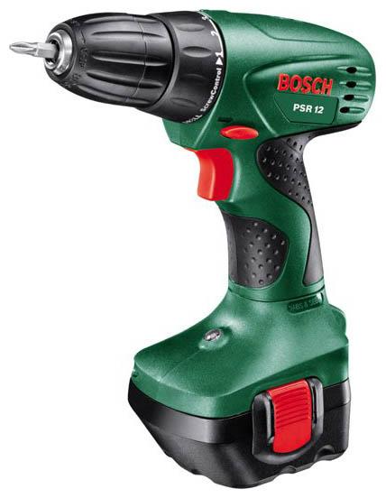 Дрель Bosch PSR 12 (с двумя аккумуляторами) 060395550u
