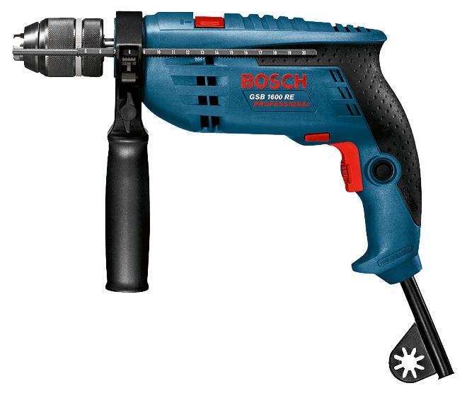 Дрель Bosch GSB 1600 RE Professional [0601218121]