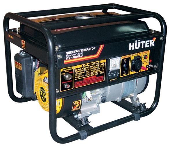 Электрогенератор Бензиновый генератор HUTER DY4000LX, 220, 3кВт 64/1/22