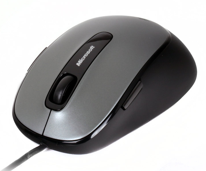 ����� MICROSOFT Comfort Mouse 4500 Lochness Grey USB (4FD-00002)
