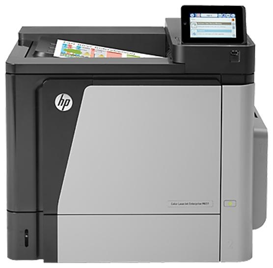 Лазерный цветной принтер HP Color LaserJet Enterprise M651n CZ255A