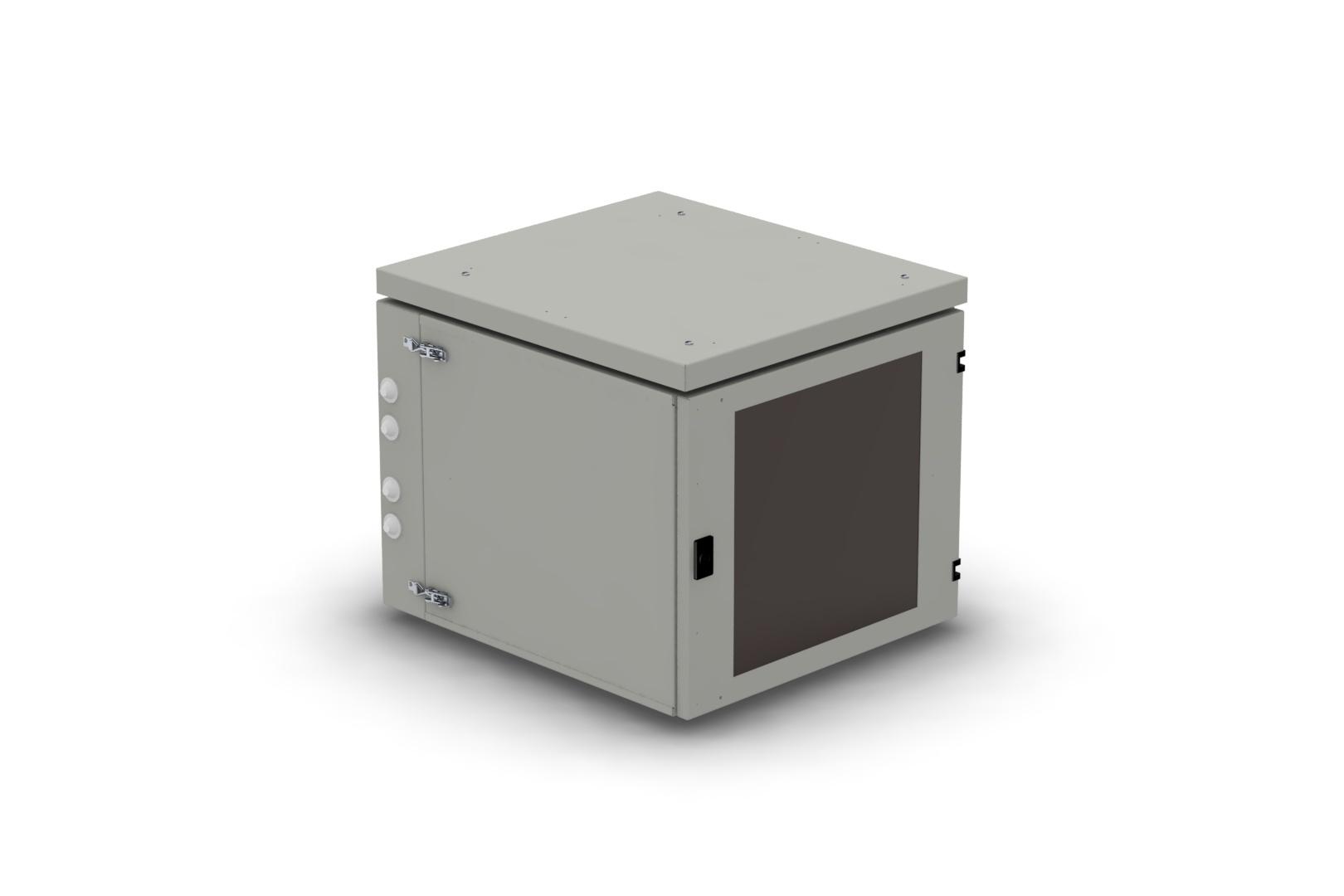 Телекоммуникационный шкаф WALLBOX IP55 plus 18-66 G серый NT WALLBOX IP55 plus 18-66 G
