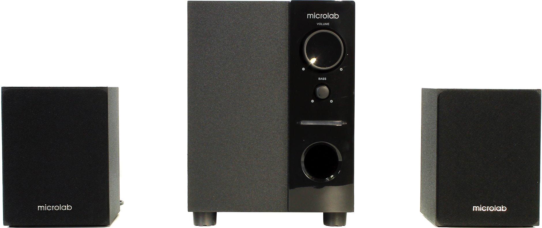 Компьютерная акустика Microlab M-109 2.1, черная M-109 black