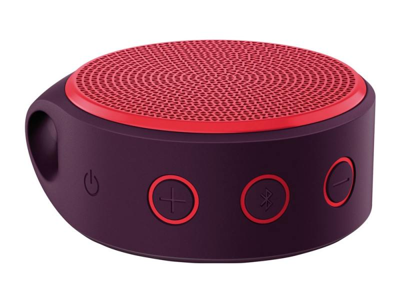 Logitech X100 Mobile Speaker, красная