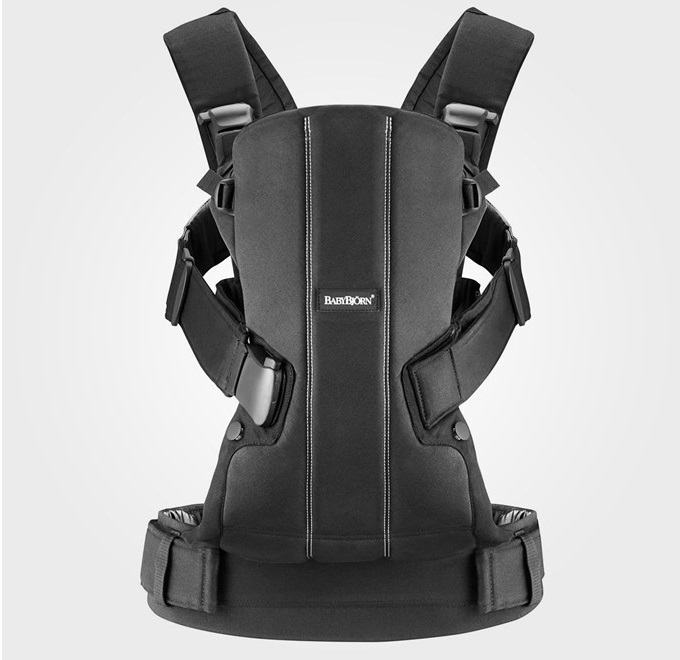 ������-������� BabyBjorn Baby Carrier We Black Cotton 0920.44