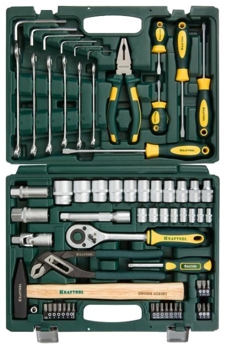 Набор инструментов KRAFTOOL 27976-H66, 66 предметов