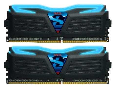 Модуль памяти Geil GLB432GB2400C16DC (DDR4 32 Gb, 2400 MHz, 2x16 Gb, Black/Blue)