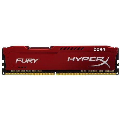 Модуль памяти Kingston HX421C14F*2/8, красная HX421C14FR2/8