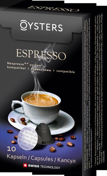 Кофе Oysters Espresso 10 капсул