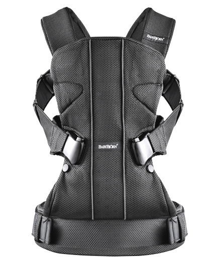 BabyBjorn One, Black Air Mesh