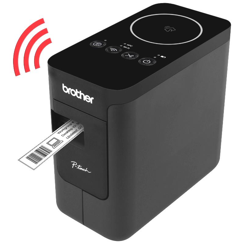 Принтер наклеек Brother P-touch PT-P750W (этикеточный), чёрный ptp750wr1